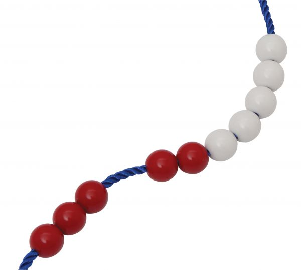 maths bead string 16mm pack of 10 power of 2