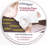 72 activity plans and 4 flexitables.flexitable cd cover
