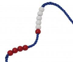 Maths Bead String - 9mm 20 beads - (Pack of 10)