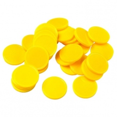 22mm Yellow Counters (Pack of 500)